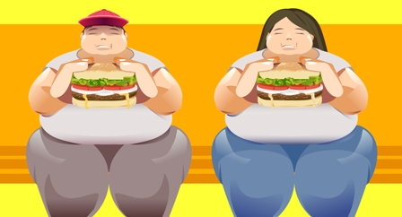 Being over weight and having poor diet can cause the development of cancer disease