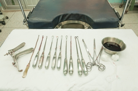 Surgical abortion - removing the fetus using surgical methods