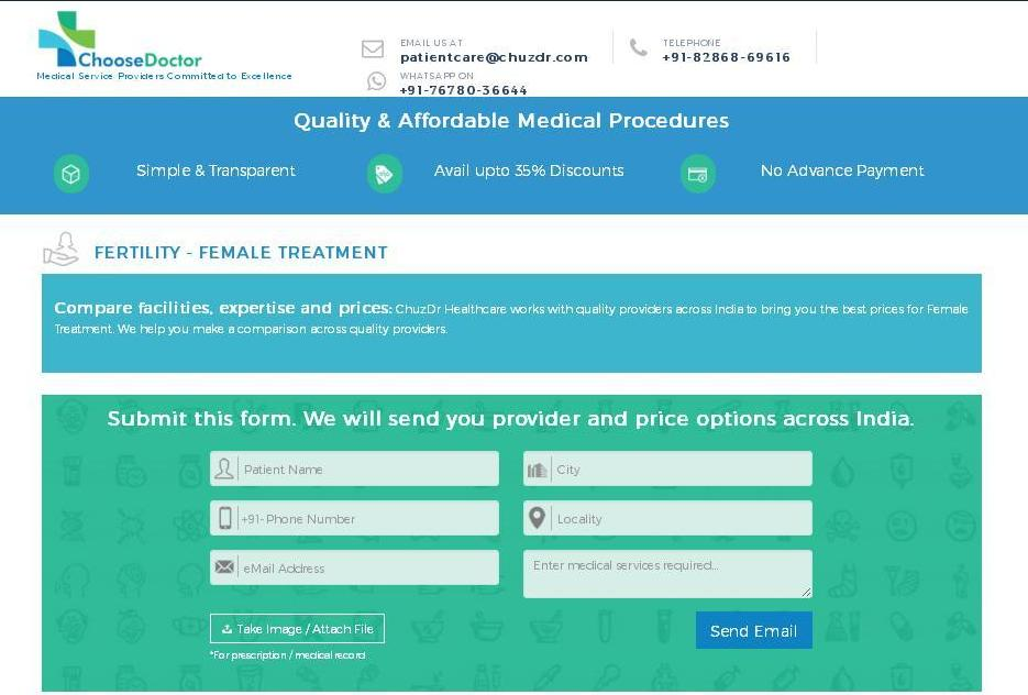 Affordable IVF Treatment Cost - ChooseDoctor