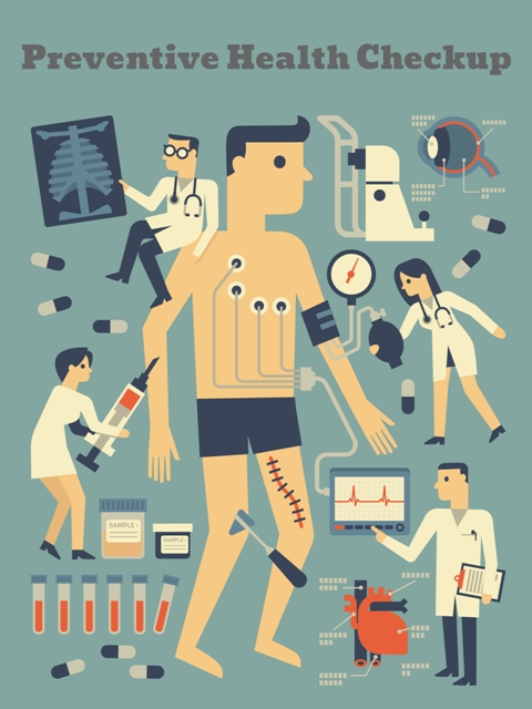 Preventive Health checkup to track body changes for any abnormal activity within the body